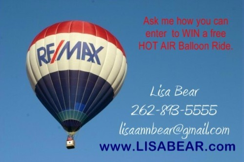 Lisa Bear remax balloon promotion